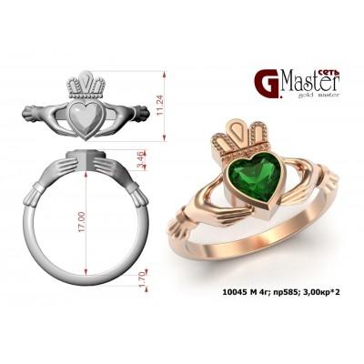 Восковка кольцо Кладахское 10045
