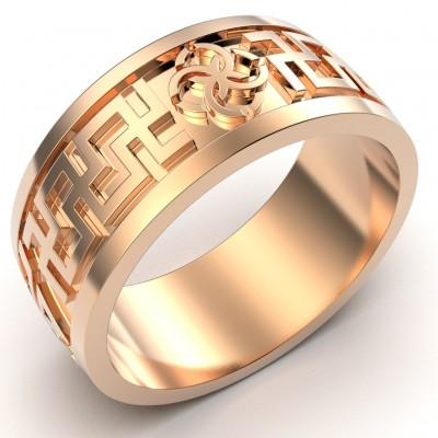 Восковка кольцо Версаче 10103
