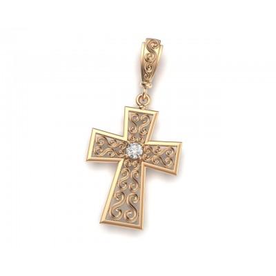 Восковка крест 10309
