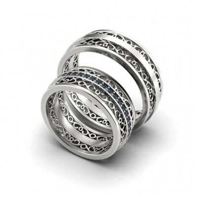 Восковка кольцо 10338