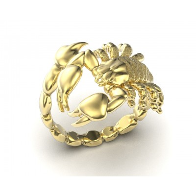 Восковка кольцо скорпион 10473