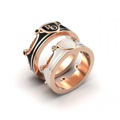 Восковка кольцо под эмаль 10482