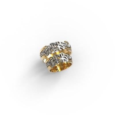 Восковка кольцо 10614