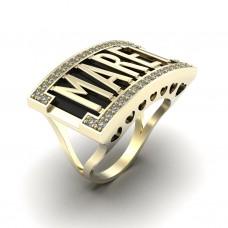 Восковка кольцо 10826