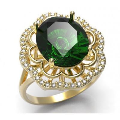 Восковка комплект кольцо серьги 3316