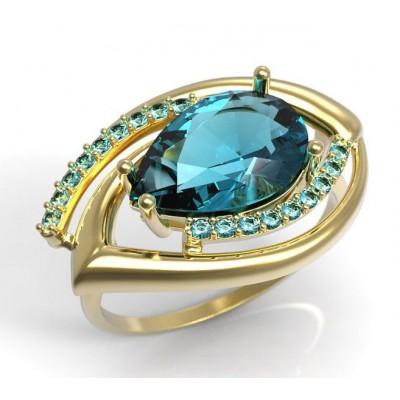 Восковка комплект кольцо серьги 4005.2