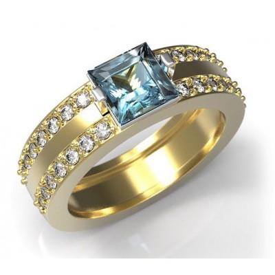 Восковка комплект кольцо серьги 4005.5