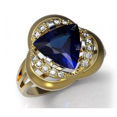 Восковка комплект кольцо серьги 4005.6