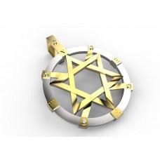 Восковка Звезда Давида 5917