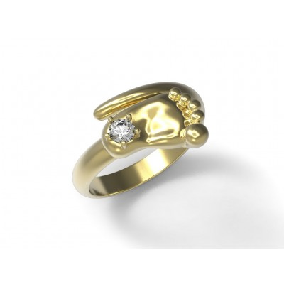 Восковка кольцо 6356