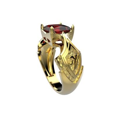 Восковка кольцо 6486