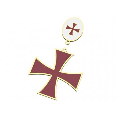 Восковка крест 6572