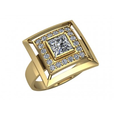 Восковка кольцо 6607