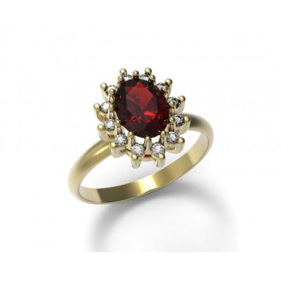 Восковка кольцо 7144