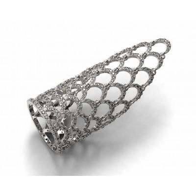 Восковка кольцо 7334