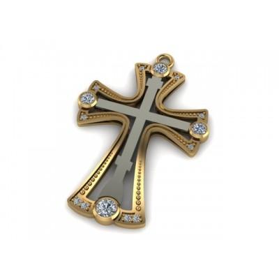 Восковка крест 7336