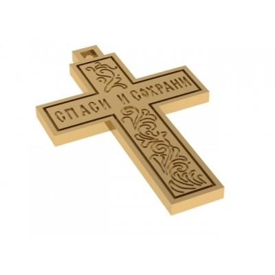 Восковка крест 7386