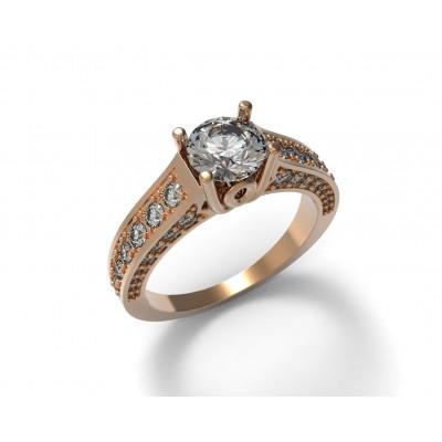 Восковка кольцо 7482