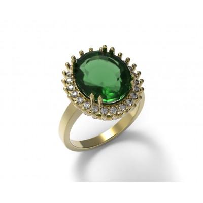 Восковка кольцо 7499