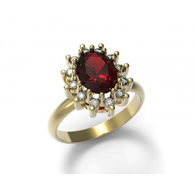 Восковка кольцо 7521