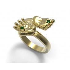 Восковка кольцо 7595