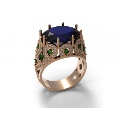 Восковка кольцо 7615