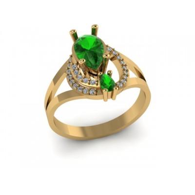 Восковка кольцо 7634