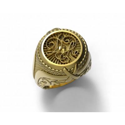 Восковка кольцо 7997