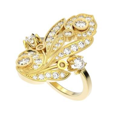 Восковка кольцо 8296