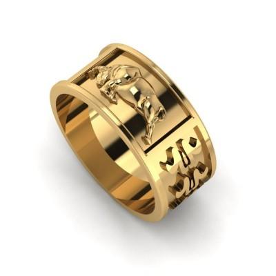 Восковка кольцо 8358