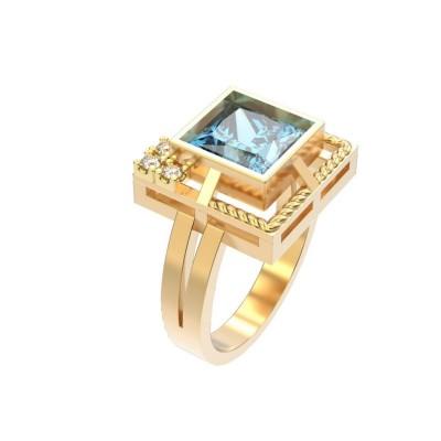 Восковка кольцо 8366