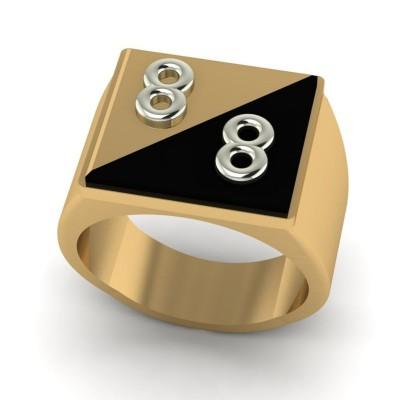 Восковка кольцо 8387