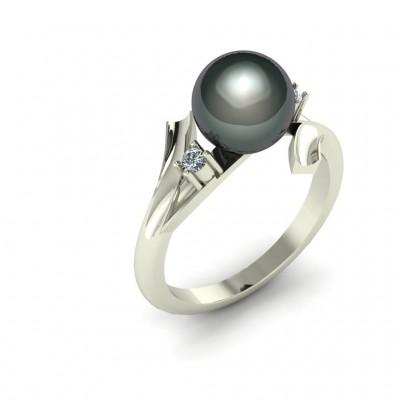 Восковка комплект кольцо серьги 8429