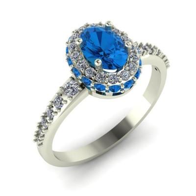 Восковка комплект кольцо пусеты 8434