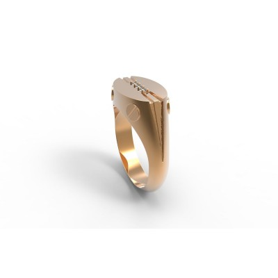 Восковка кольцо 8502