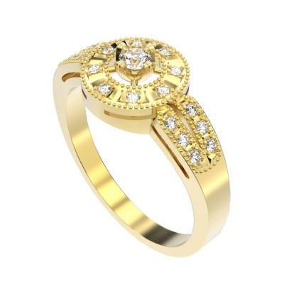 Восковка комплект кольцо серьги 8607
