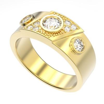 Восковка кольцо 8678