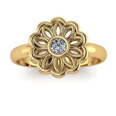 Восковка кольцо 8690