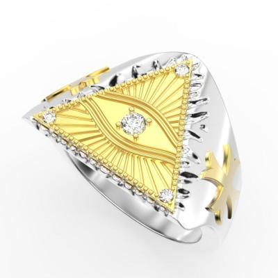 Восковка кольцо 8756