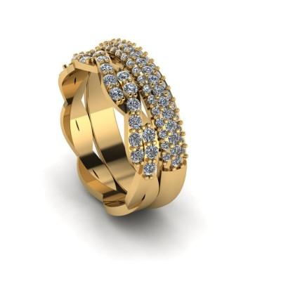 Восковка кольцо 8916