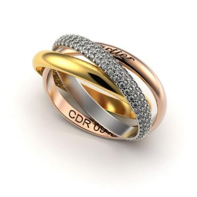 Восковка кольцо 8965,Восковка кольца,Милабо.