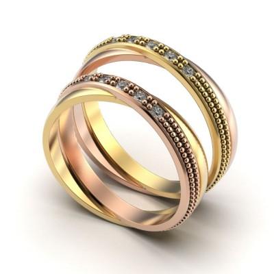 Восковка кольцо 8986,Восковка кольца,Милабо.