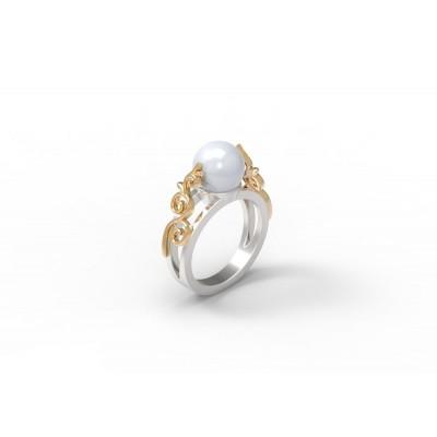 Восковка кольцо 9044,Восковка кольца,Милабо.