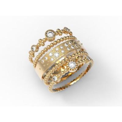 Восковка кольцо 9049,Восковка кольца,Милабо.