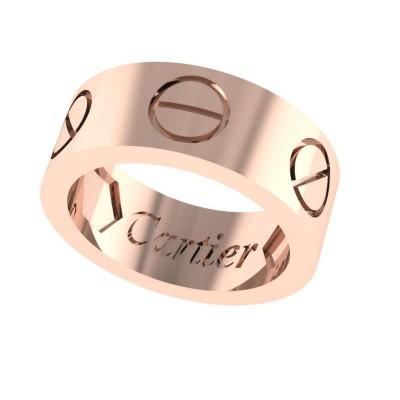 Восковка кольцо Картье 9170
