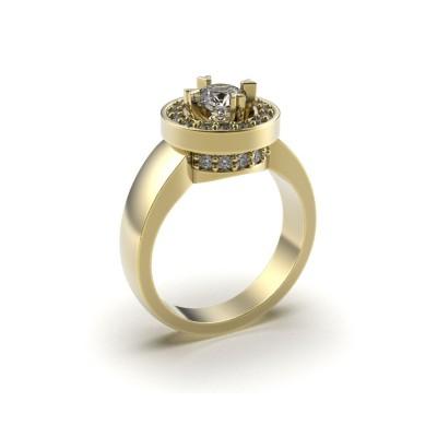 Восковка комплект кольцо серьги 9183
