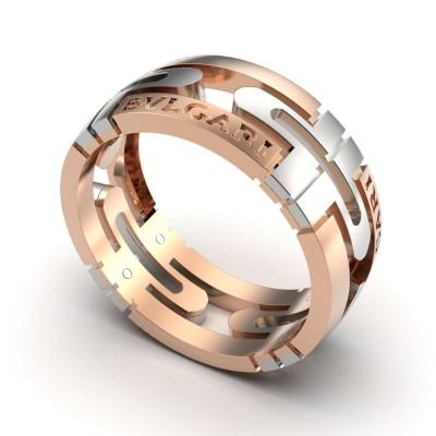 Восковка кольцо Булгари 9198