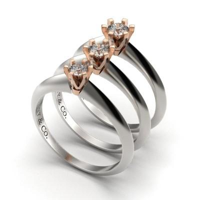 Восковка кольцо Тиффани 9254