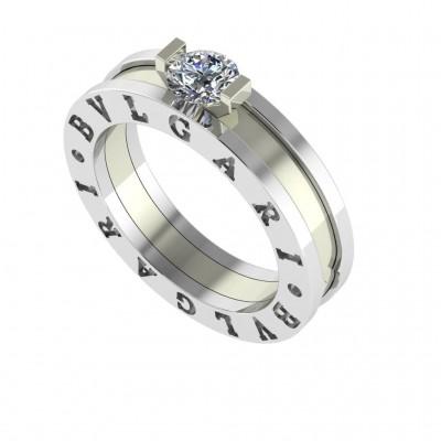Восковка кольцо Булгари 9268