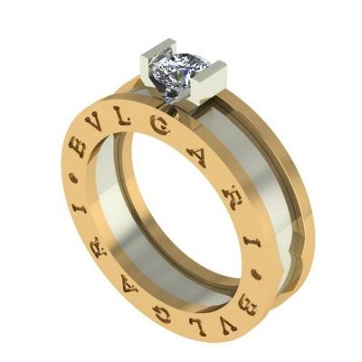 Восковка кольцо Булгари 9281